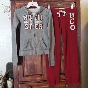 Hollister Sweatshirt hoodie & Sweatpants joggers